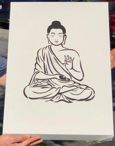 Hemp Acoustic Art Panel (Buddha) - Dope Panels