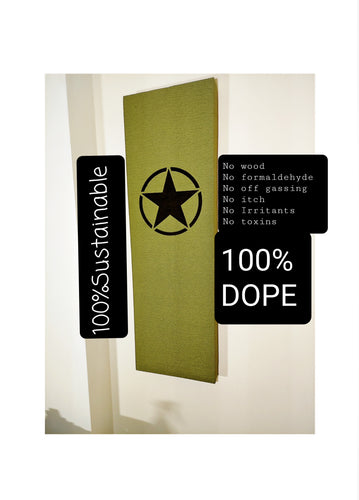 Completely Dope Acoustic Panel. USA Military Star - Dope Panels