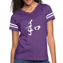 Load image into Gallery viewer, Women's Vintage Sport T-Shirt (Peace) - Dope Panels