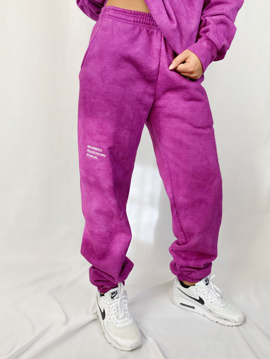 TAURUS VIOLET SWEATPANTS