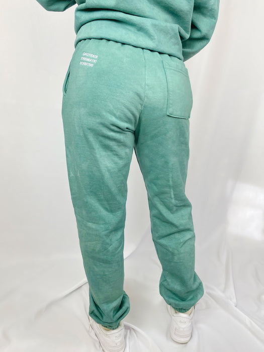 CANCER GREEN SWEATPANTS