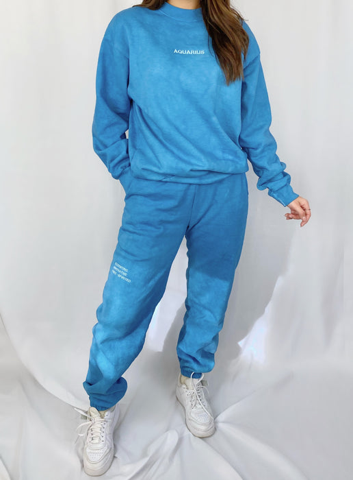 AQUARIUS BLUE SWEATPANTS