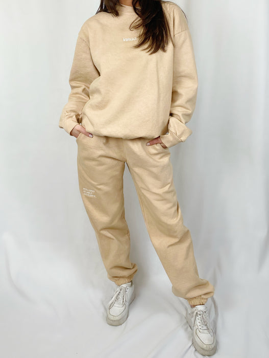 VIRGO TAN SWEATPANTS