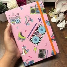 Load image into Gallery viewer, Playful Instrument Pink Notebook
