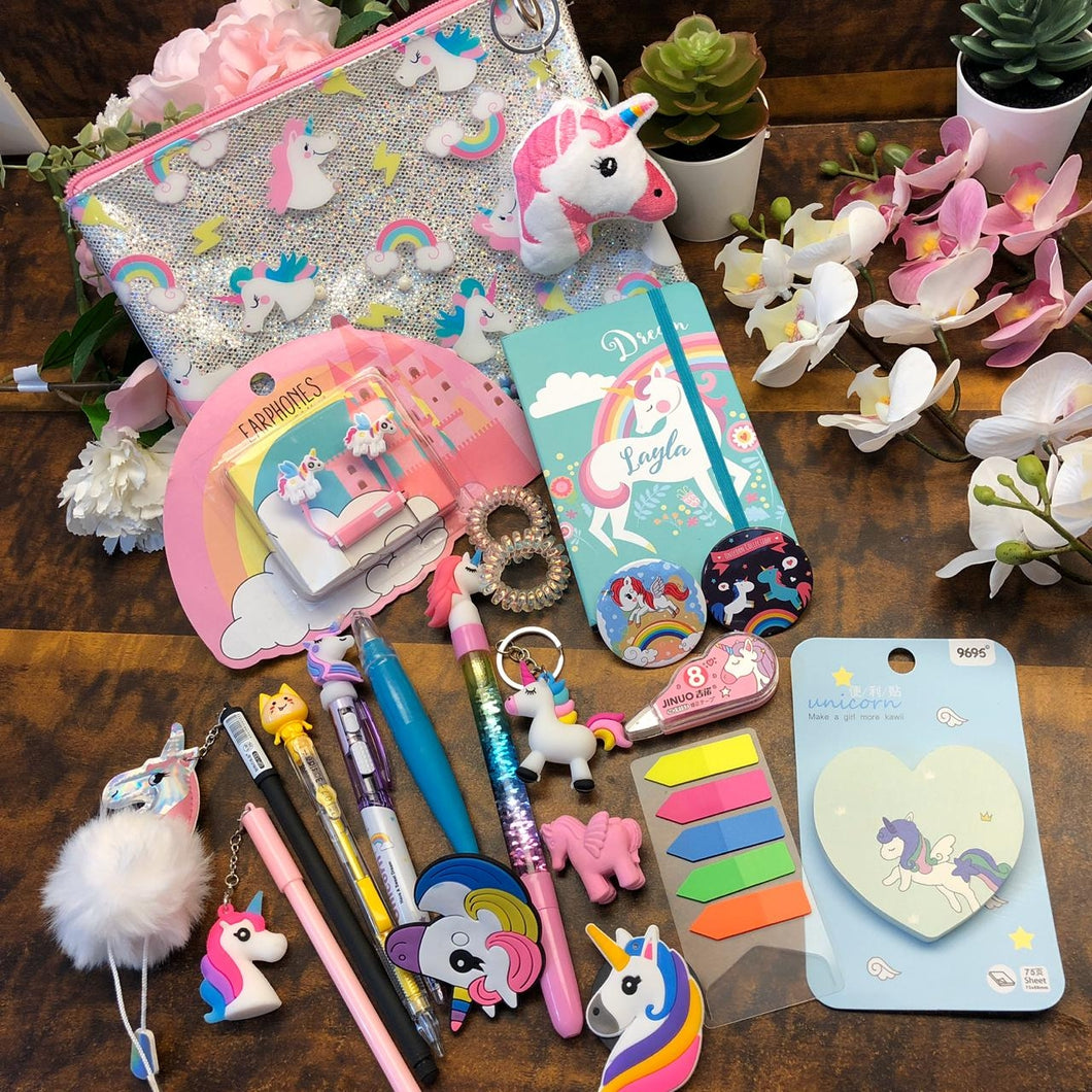 Unicorn Glitter Goodie Combo : Assorted