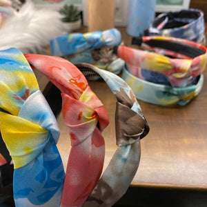 Tie & Dye Knotted Hairband