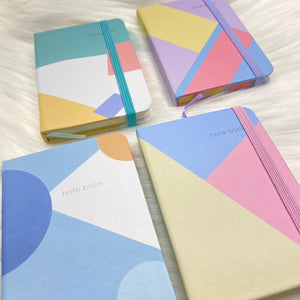 Pastel Collage Pocket Diary
