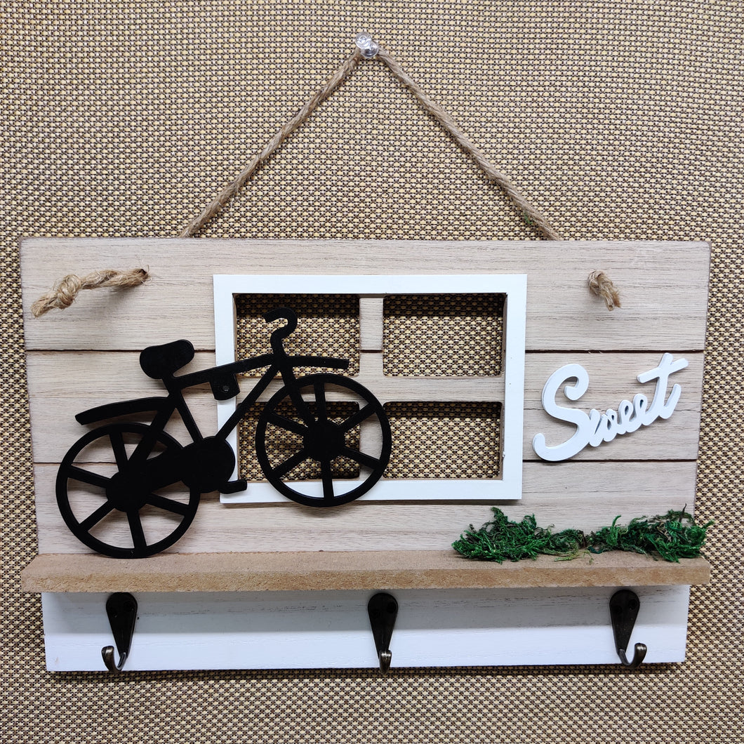 Sweet cycle Key Holder Hanging Stand