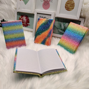 Glitter Ombre Notes Diary