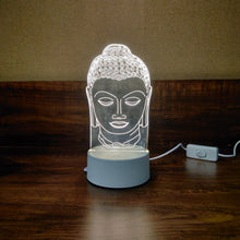 Load image into Gallery viewer, Transparent Acrylic Lamp - Buddha