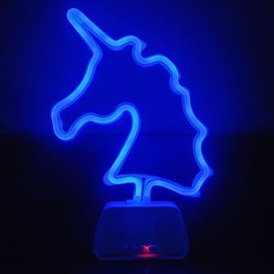 Unicorn Room Lamp with Bluetooth Speaker