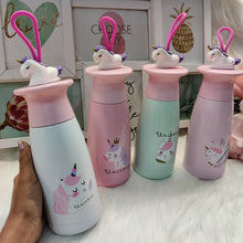 Load image into Gallery viewer, Top Unicorn Strap Vacuum Flask Bottle