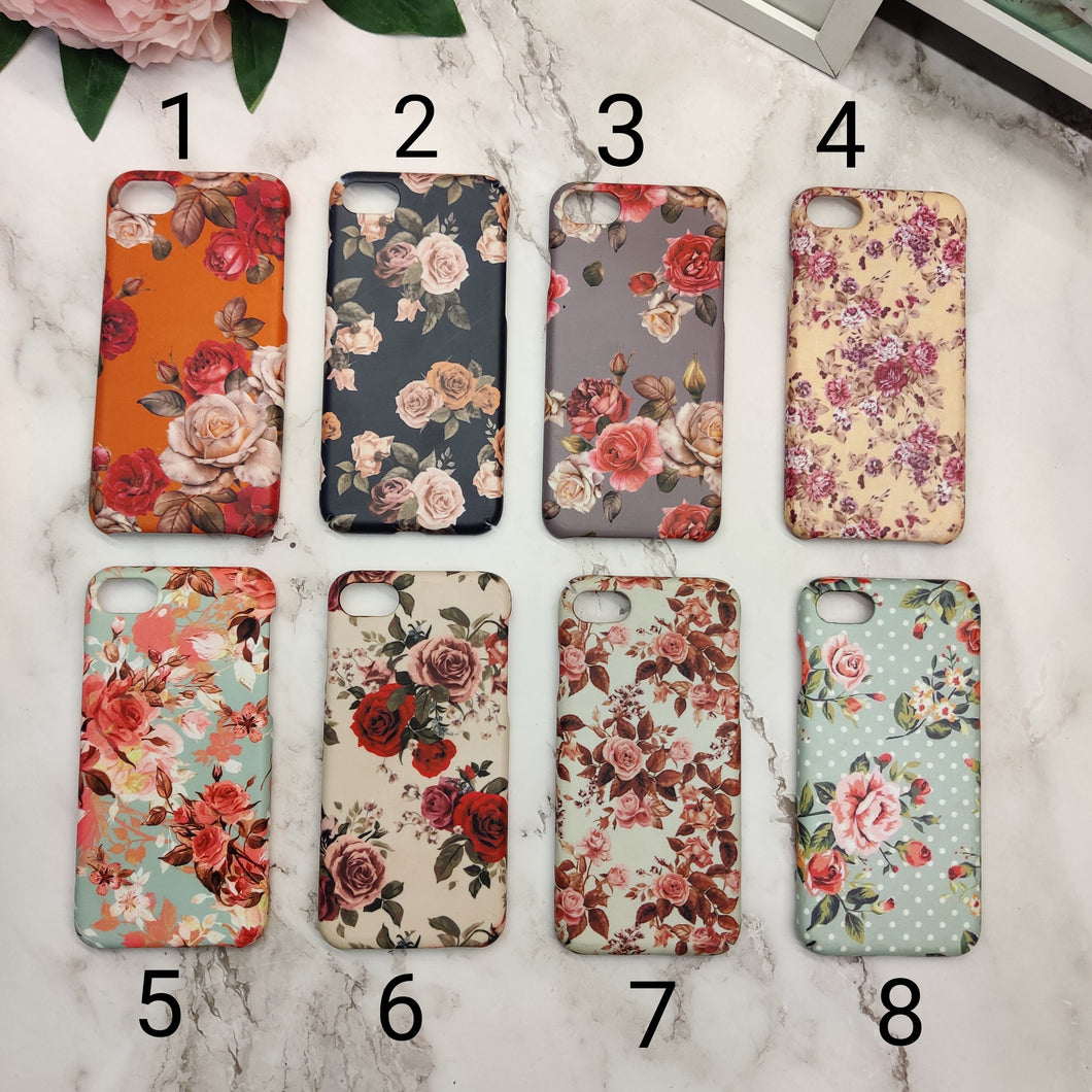 SALE : iPhone 7/8/SE 2020 phone cases : floral 1
