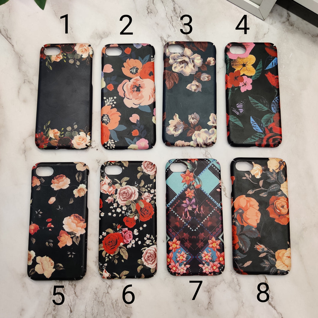SALE : iPhone 7/8/SE 2020 phone cases : floral