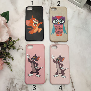 SALE : iPhone 7/8/SE 2020 phone cases : Cartoon print 3