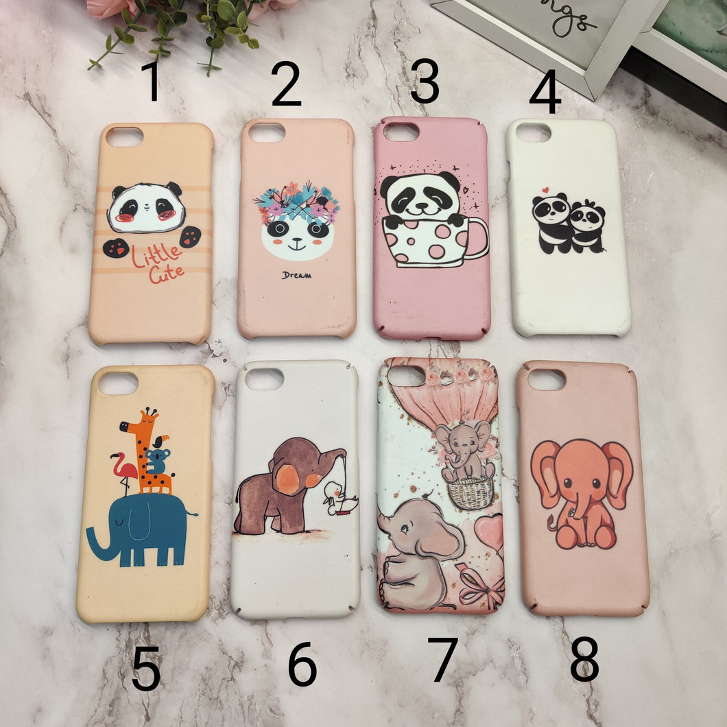 SALE : iPhone 7/8/SE 2020 phone cases : Cartoon print