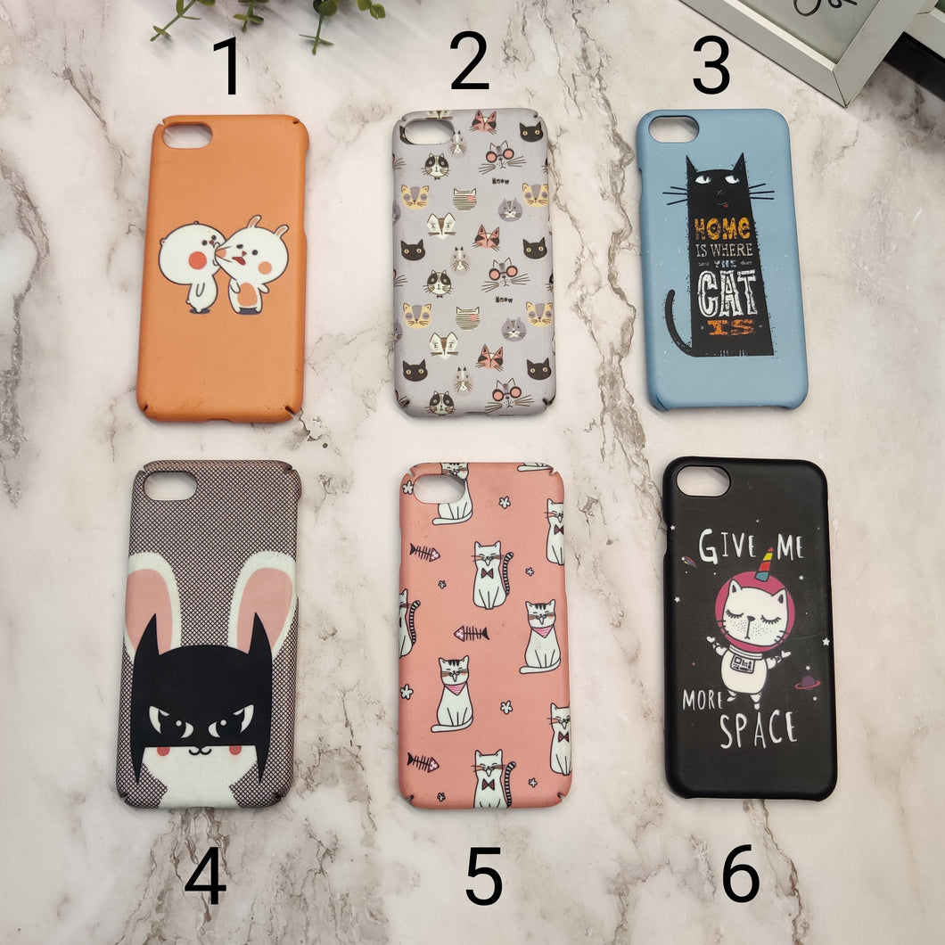 SALE : iPhone 7/8/SE 2020 phone cases : Cartoon print 2