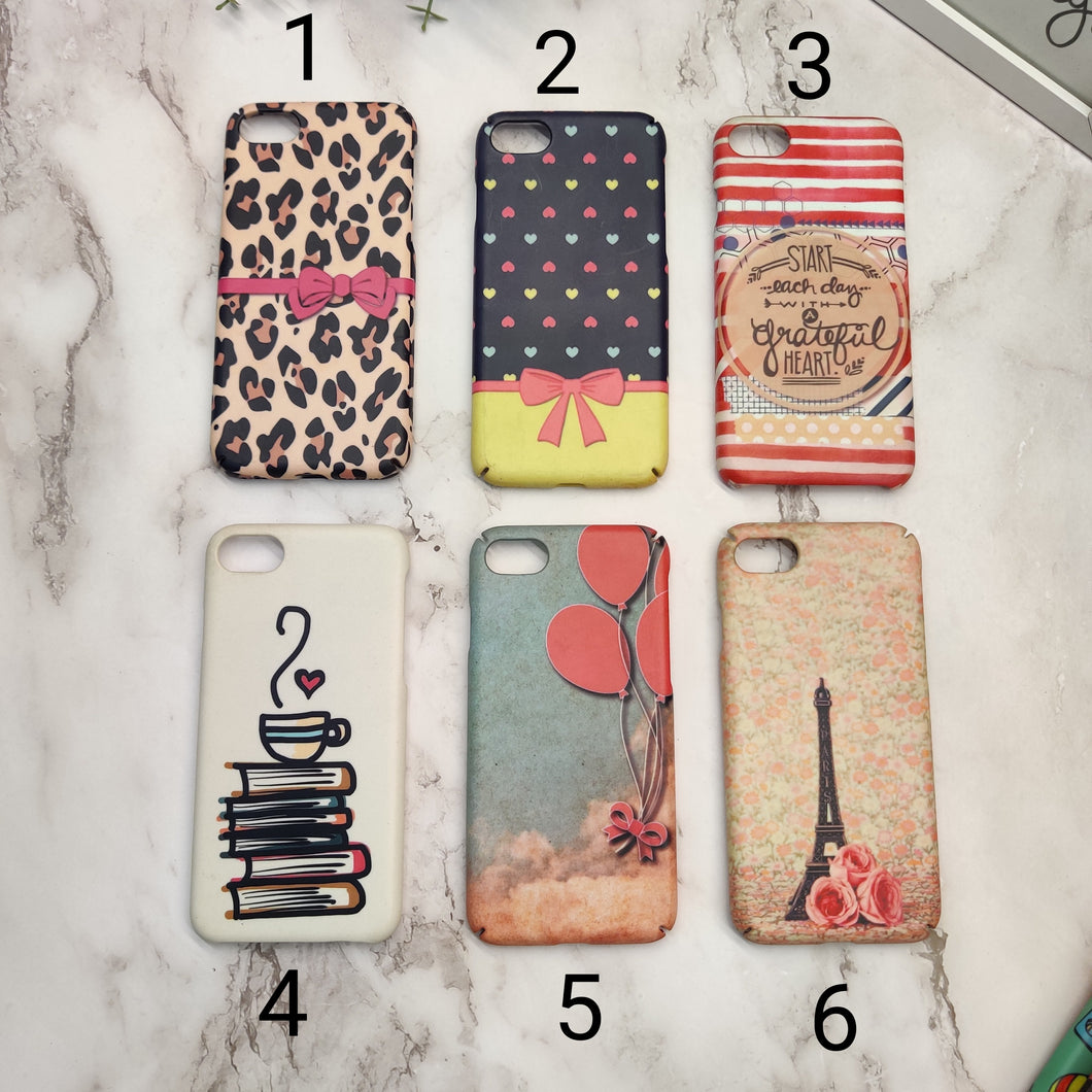 SALE : iPhone 7/8/SE 2020 phone cases : Cute Prints