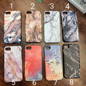 SALE : iPhone 7/8/SE 2020 phone cases : Marble prints