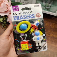 Load image into Gallery viewer, Space Series Eraser Set