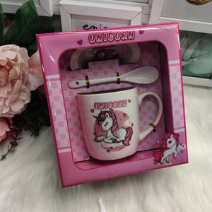 Unicorn Mug set with Gift box