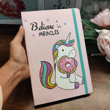 Load image into Gallery viewer, Unicorn Hardbound Diary - A5