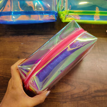 Load image into Gallery viewer, Holographic Colour Jumbo Pouch- clearance sale