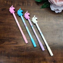 Load image into Gallery viewer, Set of 4 Unicorn Pens