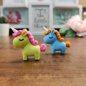 Set of 3 Unicorn Fatty Erasers