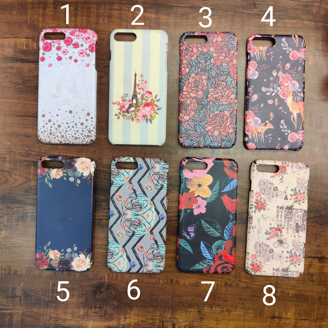 SALE : iPhone 7 plus / 8 plus phone cases : Floral Design 2
