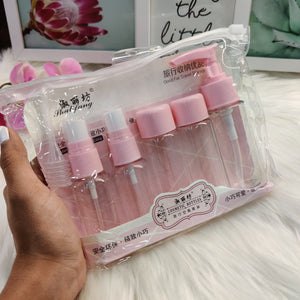 Travel bottles set- clearance sale