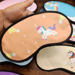 Unicorn colourful Eyemask