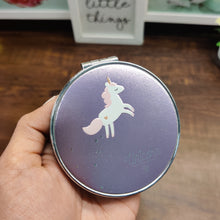 Load image into Gallery viewer, Unicorn Shining Folding Mirror