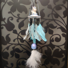 Load image into Gallery viewer, Unicorn Swing Bell Pink Dreamcatcher- clearance sale