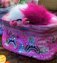 Load image into Gallery viewer, Sequin Vanity Bag