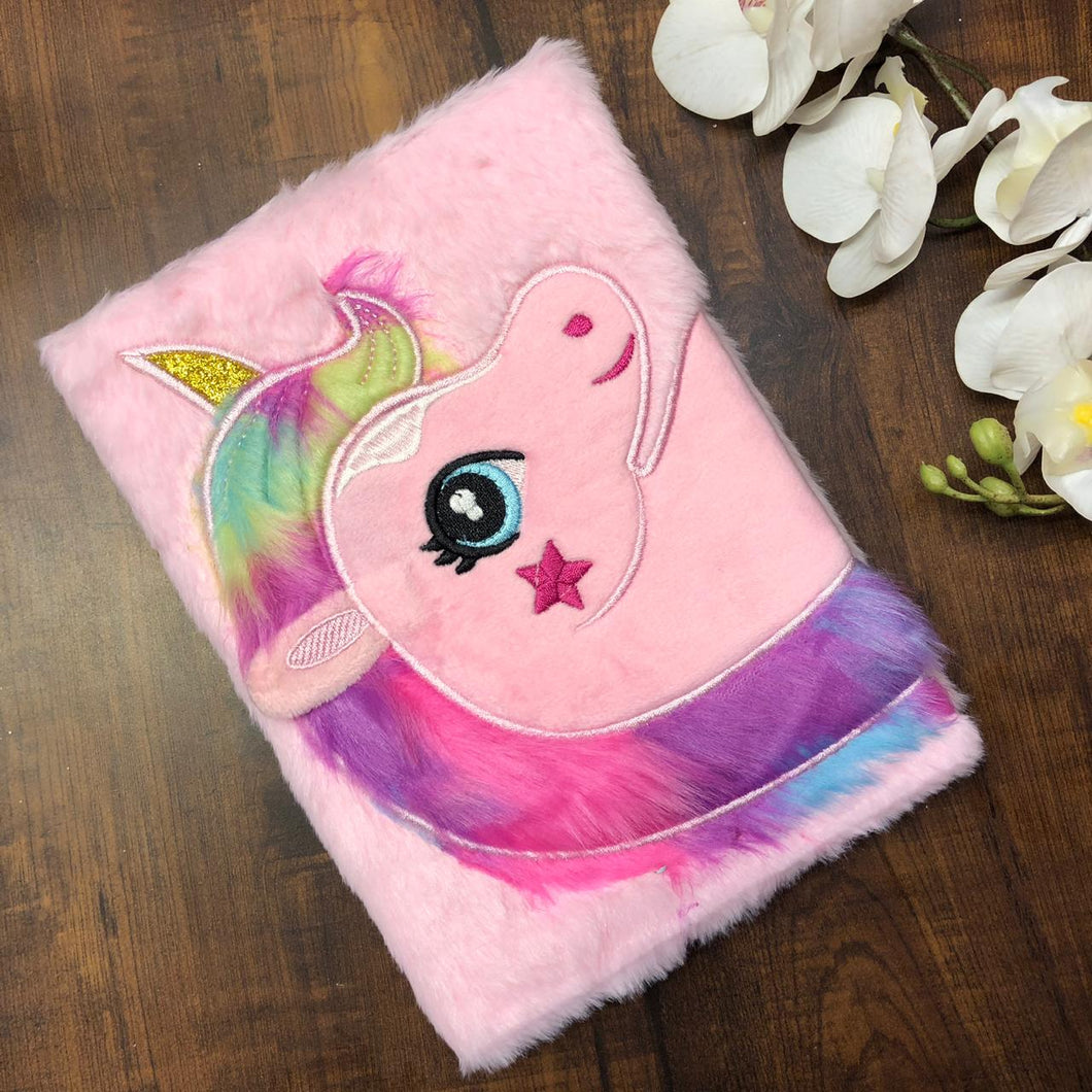 Unicorn Fur Notebook