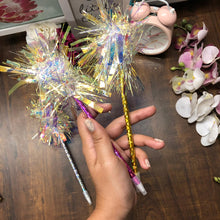 Load image into Gallery viewer, Holographic Pom Pom Pen