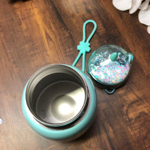 Load image into Gallery viewer, Stout unicorn Insulated  Flask With Glitter Cap