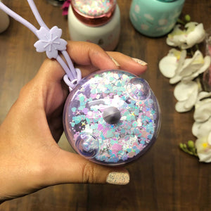 Stout unicorn Insulated  Flask With Glitter Cap