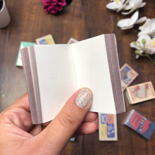 Load image into Gallery viewer, Matchstick Sized Notebooks : Assorted Prints