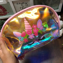 Load image into Gallery viewer, Holographic Vanity Pouch- clearance sale