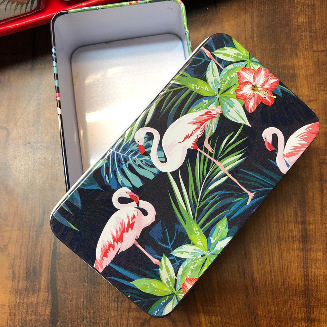 Flamingo Tin Boxes : Assorted