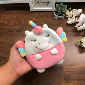 Smiling Fur Unicorn Coin Pouch