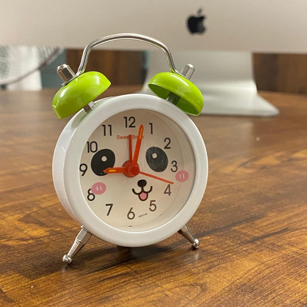 Panda Mini Alarm Clock
