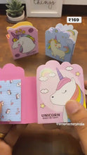Load and play video in Gallery viewer, Unicorn Trendy Folding Sticky Notes