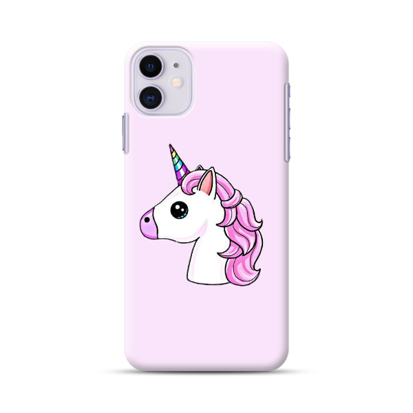 Unicorn With Purple Hair Phone Case