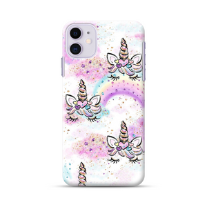 Unicorn With Hearts Phone Case