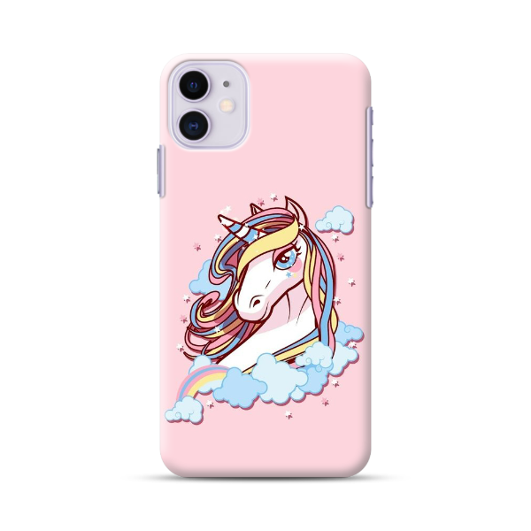 Unicorn With Yellow & Blue Hair Phone Case