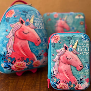 Unicorn Trolley Bag + Briefcase + Organizer