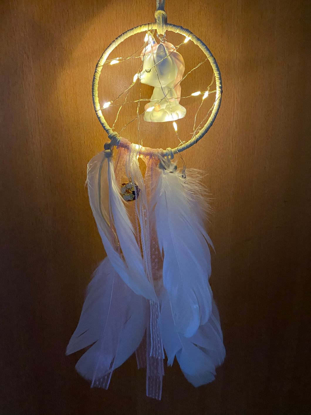 Unicorn Pastel LED dream catcher - Surprise Sale
